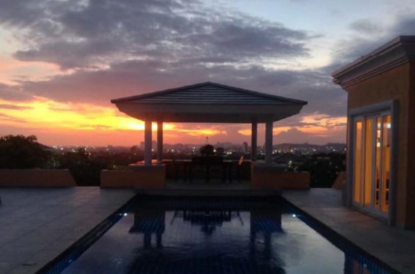 Sunset pool villa featured image