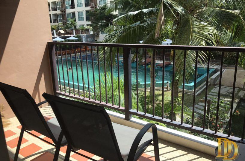 Swimming View วิวสระว่ายน้ำ